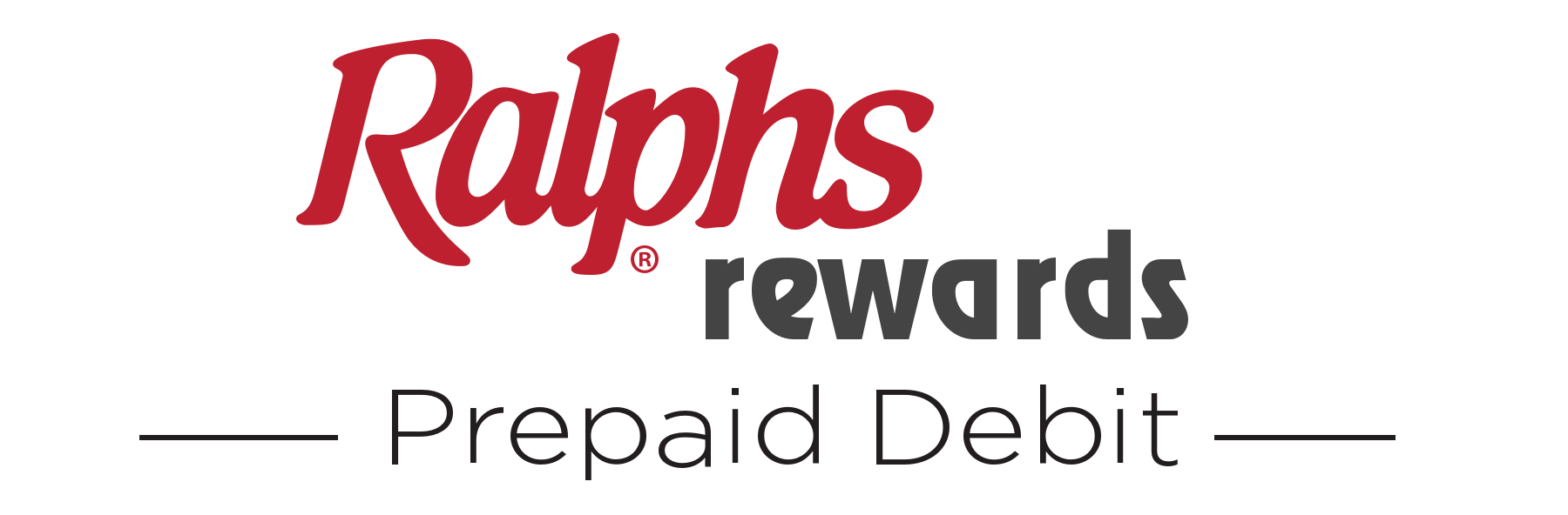 Ralphs Rewards Prepaid Debit Logo