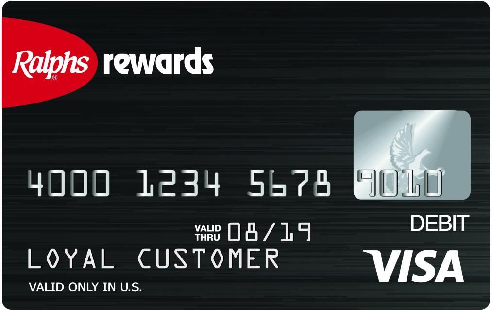ralphs prepaid visa debit card
