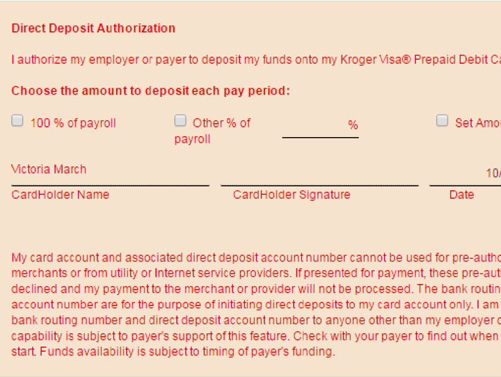 Prepaid Cards With Direct Deposit Ralphs Rewards Plus Prepaid